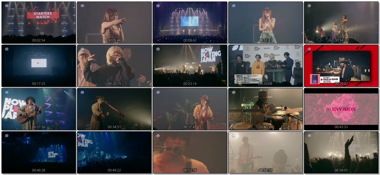 [TV-SHOW] NOW PLAYING JAPAN LIVE vol.2 (2018.12.07)