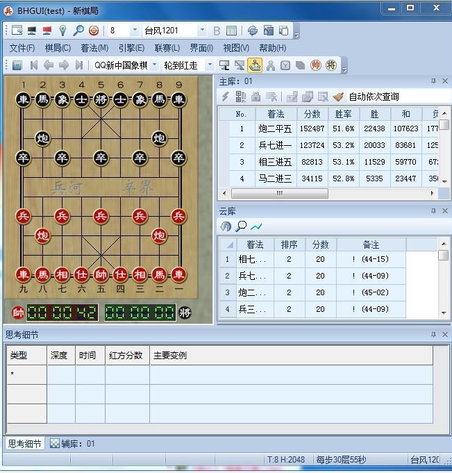 中国象棋三只羊玫瑰开局库兵河名手旋风格式